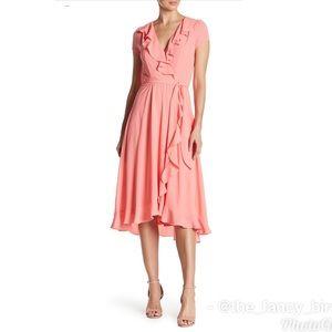 Gabby Skye Short Sleeve Waist Tie Dress Size 14